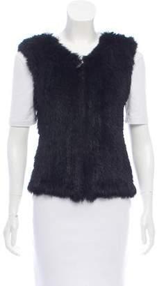 Rene Lezard Knitted Fur Vest