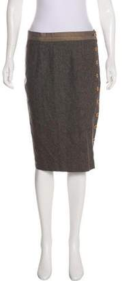 Pringle Wool Knee-Length Skirt