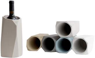 "Intoconcrete Soft Concrete Wine Cooler Rack ""Corvi"" (Set of 6)"