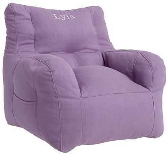 Pottery Barn Kids Bean Chair, Lavender Linen Blend