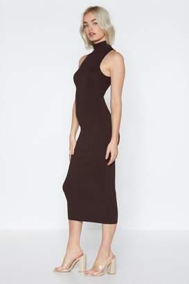 Nasty Gal Money Moves Midi Dress