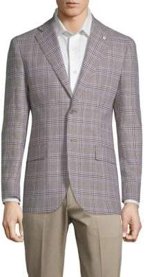 Lubiam Plaid Slim Sportcoat