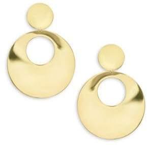 Lana 14K Yellow Gold Gypsy Hoop Earrings