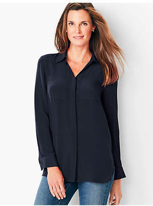 Talbots Washable Silk Top
