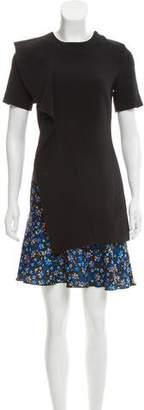 Edit A-Line Floral Print Dress
