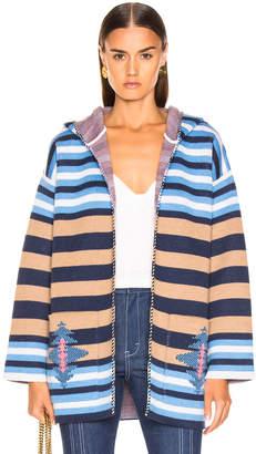 Alanui Stripes Sweater in Lapponia | FWRD