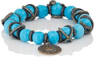 Carole Shashona Women's Imperial Om Snake Bracelet