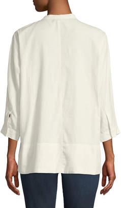 Lilla P Dolman-Sleeve Easy Shirting Blouse