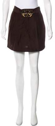 Tory Burch Silk Mini Skirt