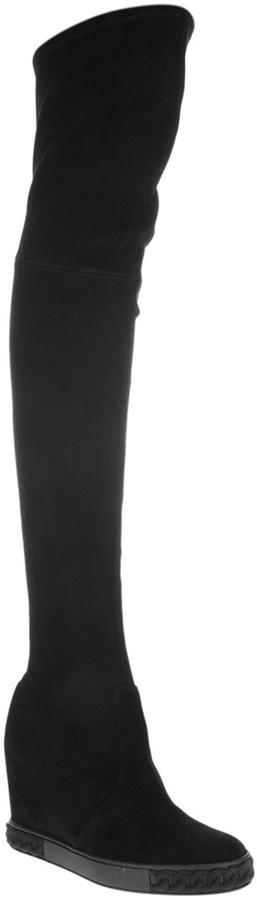 Casadei thigh-high boot