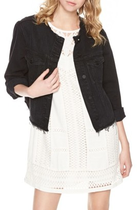 Women's Sanctuary Downtown Rider Denim Jacket $139 thestylecure.com