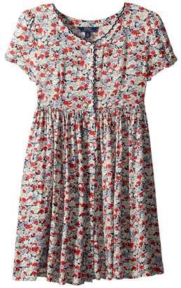 Polo Ralph Lauren Floral Button-Front Dress Girl's Dress
