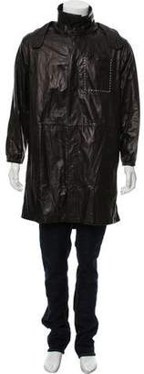 Fendi Lightweight Leather Coat