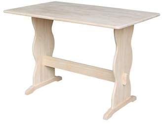 August Grove Agatha Dining Table with Trestle Leg