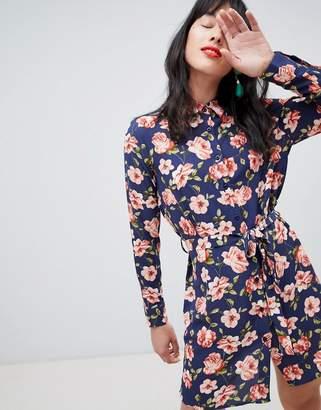 Unique21 Unique 21 floral shirt dress