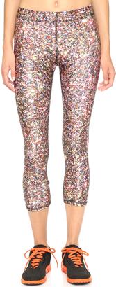 Terez Glitter Capri Leggings $78 thestylecure.com