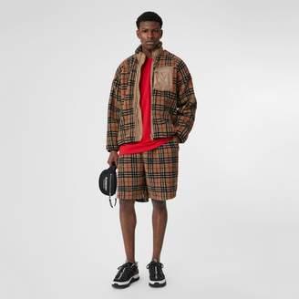 Burberry Vintage Check Fleece Jacket