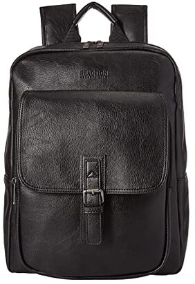 Kenneth Cole Reaction Faux Leather Computer Travel Backpack