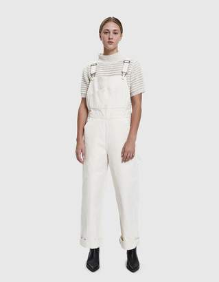 Jesse Kamm Canvas Overalls in Natural