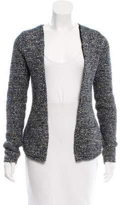 Theyskens' Theory Metallic-Accented Long Sleeve Jacket