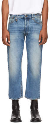 R 13 Blue Hayden Washed Jeans