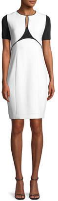 Elie Tahari Nixie Keyhole Sheath Dress