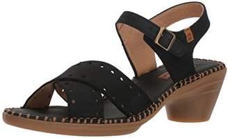 El Naturalista Women's N5325 Pleasant /Aqua Heeled Sandal 39 Medium EU (8.5 US)