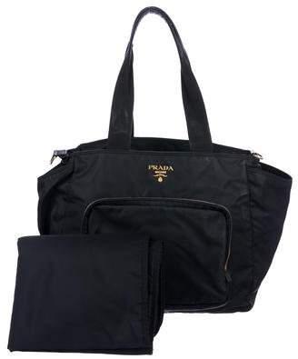 Prada Tessuto Diaper Bag