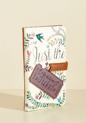 Disaster Designs Ltd. Girl Meets Voyage Travel Wallet $44.99 thestylecure.com