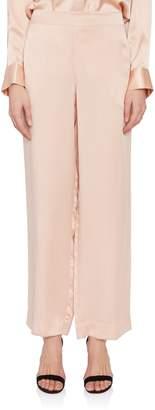 Asceno Pink Silk Pajama Pant