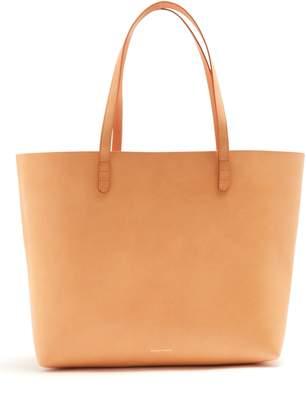 Mansur Gavriel Light-pink lined large leather tote bag