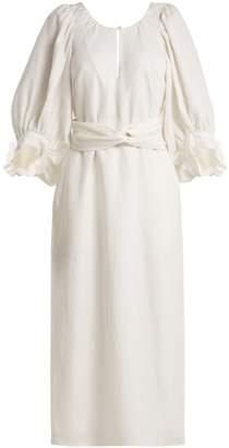 Apiece Apart Odesa linen-blend maxi dress