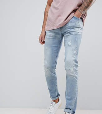 Replay Jondrill distressed skinny jeans in lightwash