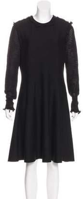 Chanel Cashmere Knee-Length Dress