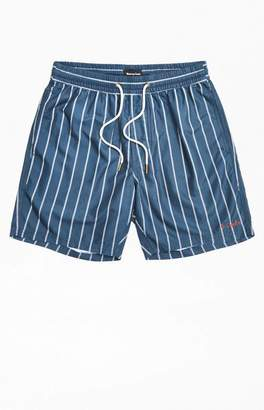 Barney Cools Stripe Poolside Drawstring Shorts