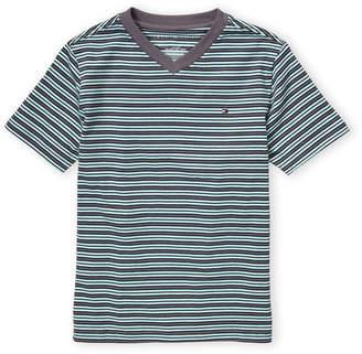 Tommy Hilfiger Boys 8-20) Stripe Short Sleeve Tee