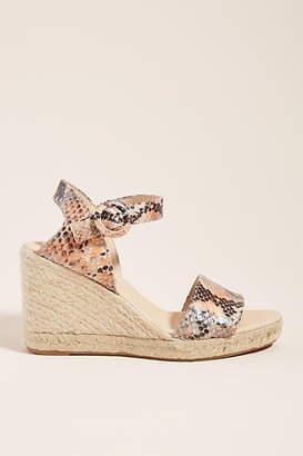 84f81eae549 Snake Espadrille Wedge Shoes - ShopStyle