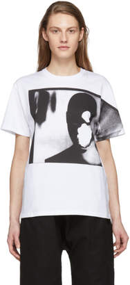 Raf Simons White Dollhead T-Shirt