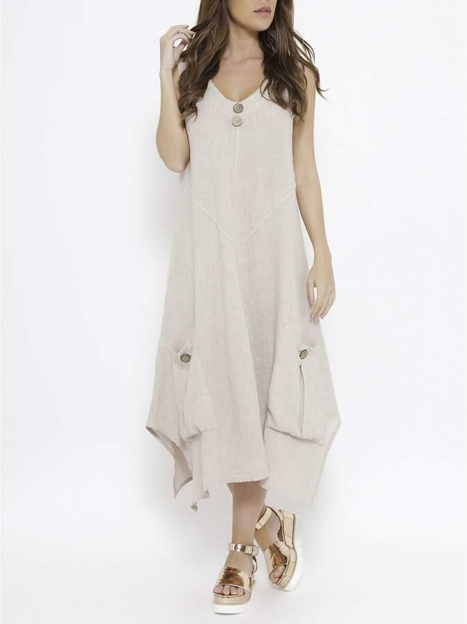 Spéciale Lin Isabelle – Kleider – maulwurfsfarben