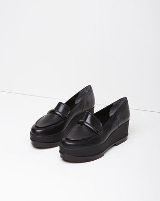 Robert Clergerie Yokolej Wedge Loafer $595 thestylecure.com