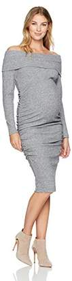 Ripe Maternity Women's Maternity Bonnie Dress, Grey, XS