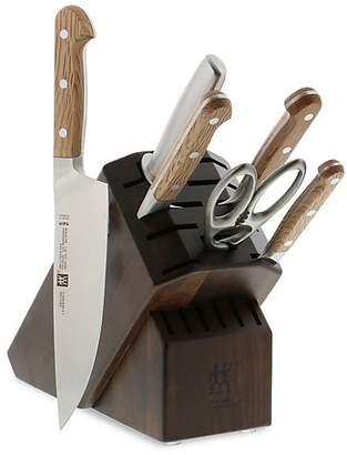 Zwilling J.A. Henckels Pro Holm Oak 7-Piece Knife Block Set