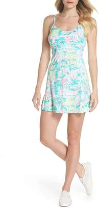 Lilly Pulitzer R) Adelia UPF 50+ Tennis Dress