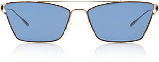 Oliver Peoples Evey Cat-Eye Metal Sunglasses