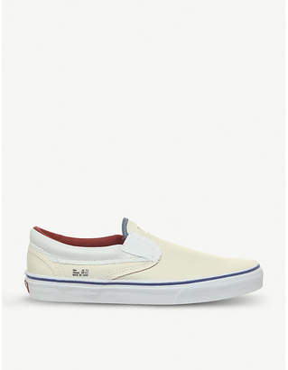 Classic Outside In slip-on canvas trainers