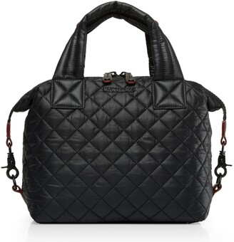 b751d9457b18 MZ Wallace Black Quilted Leather Handbags - ShopStyle