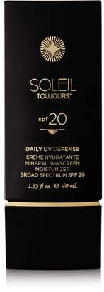 Soleil Toujours Spf20 Daily Moisturizer For Face, 40ml