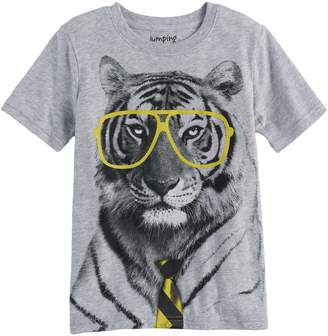 Boys 4-10 Jumping Beans Tiger in Glasses Graphic Tee
