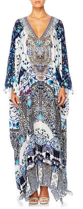 Camilla The Long Way Home Printed Coverup Kaftan