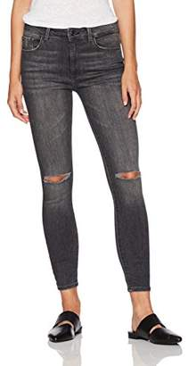 Madison Female Denim Women's Parsons High Waisted Ankle Power Stretch Skinny Jean